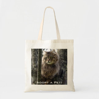 Long-hair Tabby Cat Animal Bag