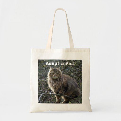Long-hair Tabby Cat Animal Bag