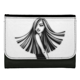 Long Haired Beauty Wallet