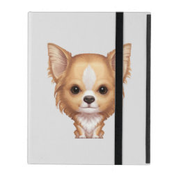 Powis iCase iPad Case with Kickstand with Chihuahua Phone Cases design