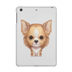 Case Savvy Glossy Finish iPad Mini Retina Case with Chihuahua Phone Cases design