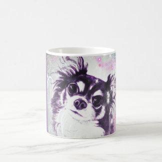 Long Haired Chihuahua Coffee Mug