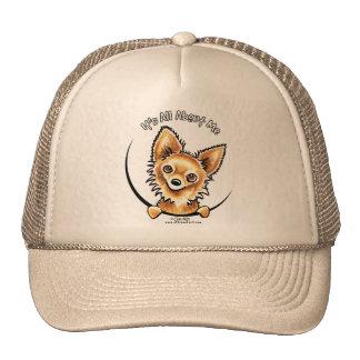 Long Haired Chihuahua IAAM Trucker Hat