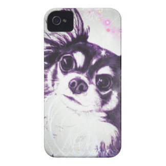 Long Haired Chihuahua iPhone 4 Cover