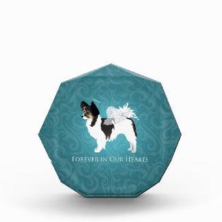 Long-haired Chihuahua Pet Memorial - Sympathy Acrylic Award