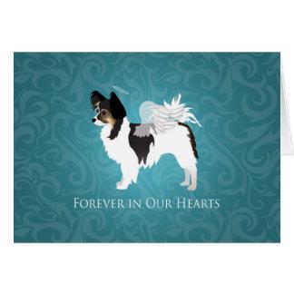 Long-haired Chihuahua Pet Memorial - Sympathy Card