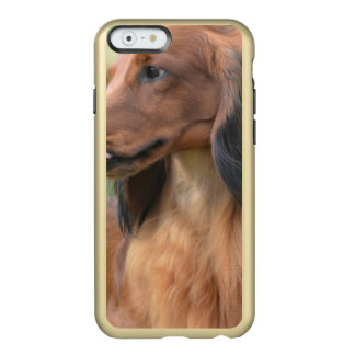 Long Haired Dachshund Incipio Feather® Shine iPhone 6 Case