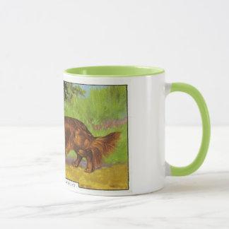 Long-haired Dachshund Mug