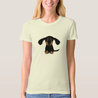 Long Haired Dachshund Puppy T-Shirt