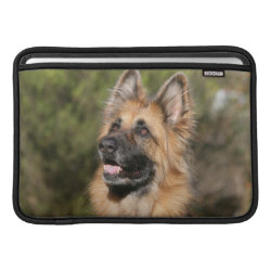 Long Haired German Shepherd 1 Sleeve For MacBook Air