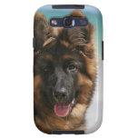 Long Haired German Shepherd Beach Galaxy S3 Case