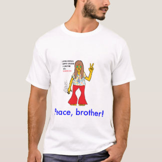 LONG HAIRED HIPPIE GNOME T-Shirt
