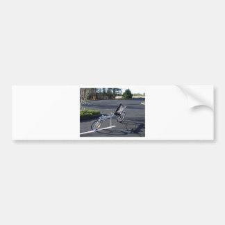 Long Haul Recumbent Bumper Sticker