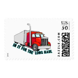 Long Haul Trucker Postage