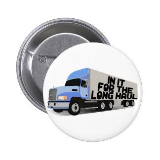 Long Haul Trucking Button