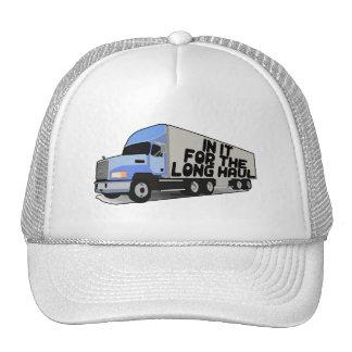 Long Haul Trucking Trucker Hat