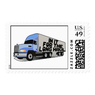 Long Haul Trucking Stamp
