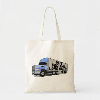 Long Haul Trucking Tote Bag