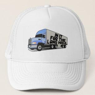 1192638ffb8f8 Long Haul Trucking Trucker Hat