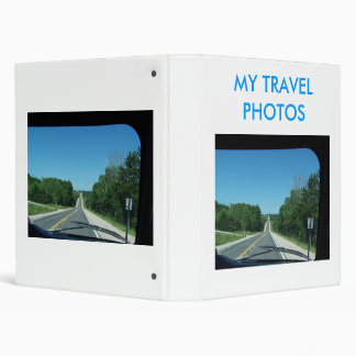 Long  Highway In Front of Me, MY TRAVELPHOTOS Binder