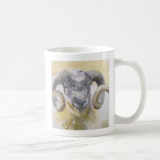 Long Horn Sheep 2 Classic White Coffee Mug