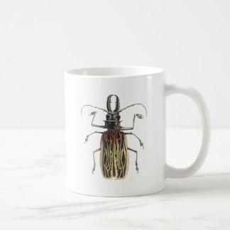 Long-Horned Beetle, Prionus Cervicornis Classic White Coffee Mug
