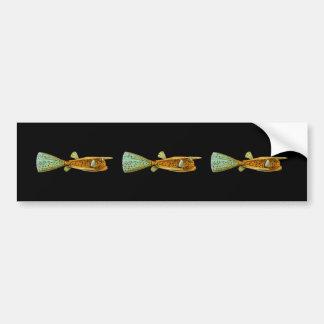 Long-horned Cowfish Bumper Sticker