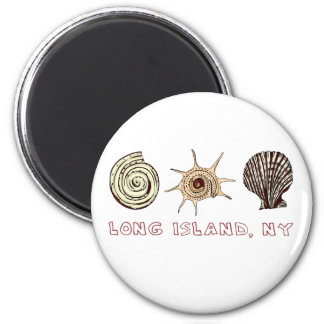 Long Island 2 Inch Round Magnet