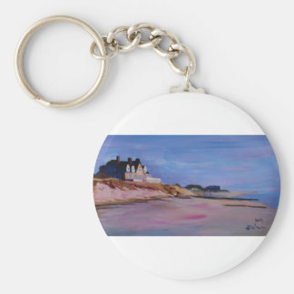 Long Island Beach - Hamptons South Fork Beach walk Keychain