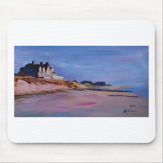 Long Island Beach - Hamptons South Fork Beach walk Mouse Pad