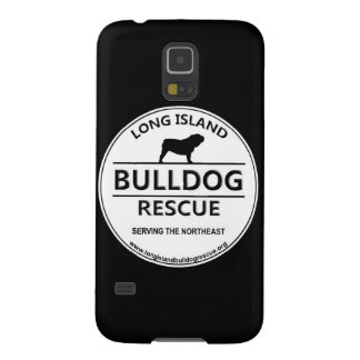 Long Island Bulldog Rescue Logo Galaxy S5 Cases