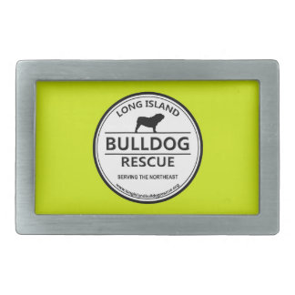 Long Island Bulldog Rescue Logo w/Yellow Belt Buckles