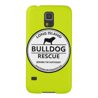Long Island Bulldog Rescue Logo w/Yellow Galaxy S5 Cases