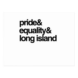 LONG ISLAND EQUALITY AND PRIDE -.png Postcard