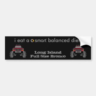 Long Island Full Size Bronco Bumper Sticker
