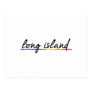 LONG ISLAND GAY PRIDE -.png Post Card