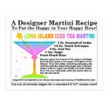 Long Island heló la postal de la receta de Martini
