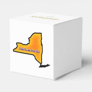 Long Island heló receta de la bebida del té Cajas Para Regalos De Boda