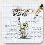 Long Island Iced Tea Beverage Coasters