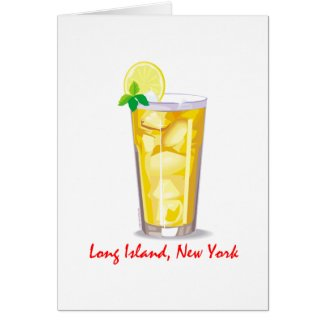 Long Island Iced Tea card