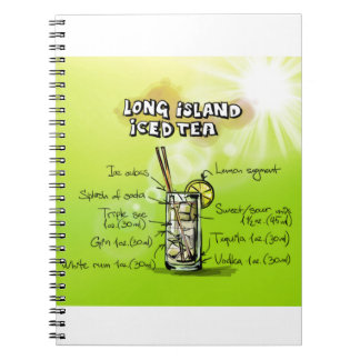 Long Island Iced Tea - Cocktail Gift Notebook