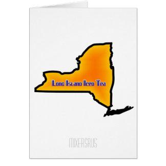 Long Island Iced Tea Drink Recipe Card