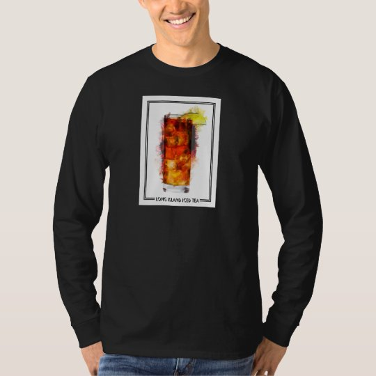 Long Island Iced Tea Marker Sketch T-Shirt