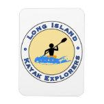 Long Island Kayak Explorers Car Magnet
