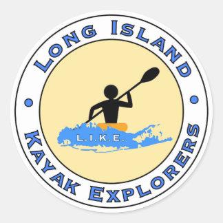 Long Island Kayak Explorers Car Sticker