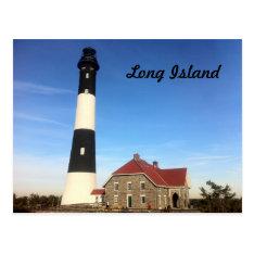 Long Island Lighthouse 3 Postcard at Zazzle
