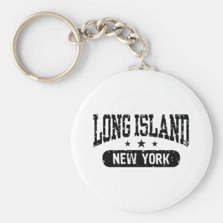 Long Island Llavero Redondo Tipo Pin