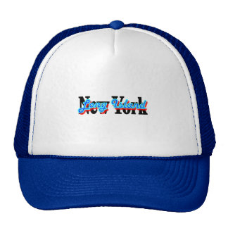 Long Island New York Graffiti Trucker Hat, Cap