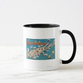 Long Island, New York - Greetings From Mug