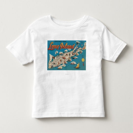 Long Island, New York - Greetings From Toddler T-shirt